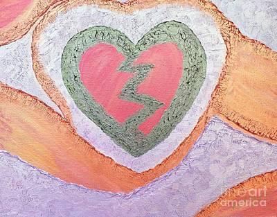 Painting - The Original Heartbreak by Rachel Hannah
