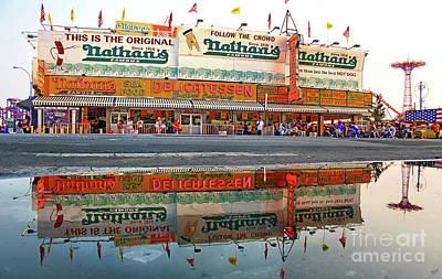 Luna Park Photograph - The Original Nathan's by Nishanth Gopinathan