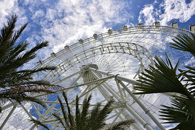 Photograph - The Orlando Eye by David Lee Thompson