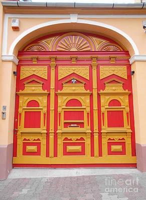 Photograph - The Ornate Gateway by Erika H