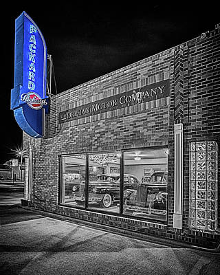 Photograph - The Orphan Motor Company #2 by Susan Rissi Tregoning