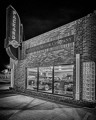 Photograph - The Orphan Motor Company #3 by Susan Rissi Tregoning