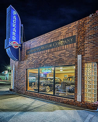 Art Print featuring the photograph The Orphan Motor Company by Susan Rissi Tregoning
