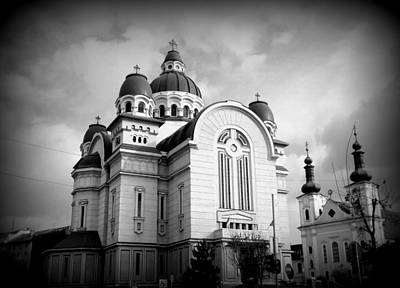 Photograph - The Orthodox Cathedral And The Saint John The Baptist Church by Erika H