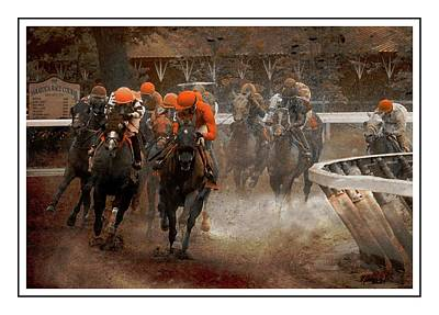 Billiard Balls - The Ortiz Brothers Leading The Way At Saratoga by Jeff Watts