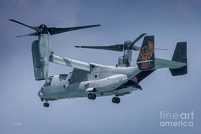 Photograph - The Osprey V-22 Tiltrotor Craft by Rene Triay Photography