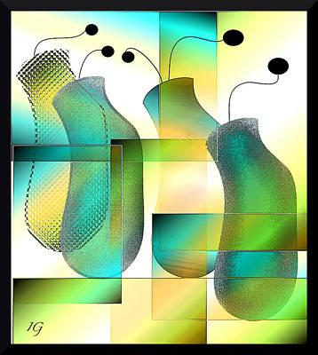 Digital Art - The Other Fab Four by Iris Gelbart