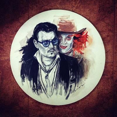 The Other Me Art Print by Roxana Barbu