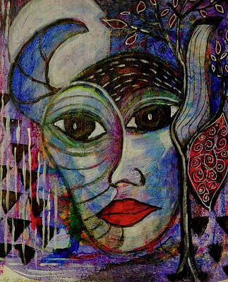 Mixed Media - The Other by Mimulux patricia No