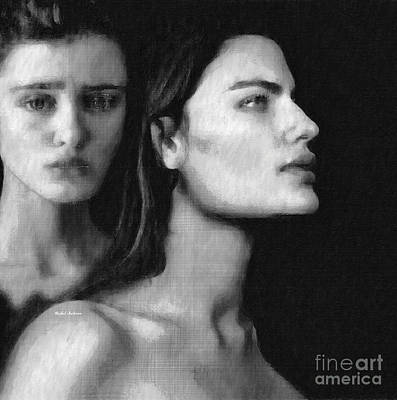 Digital Art - The Other by Rafael Salazar