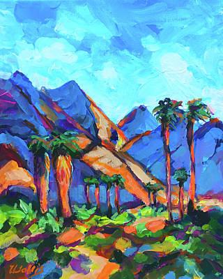 Wall Art - Painting - The Other Side Of The Mountain by Charles Wallis