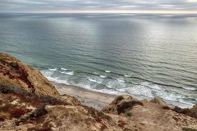 Photograph - The Other Side Of Torrey Pines Sunset by Hany J