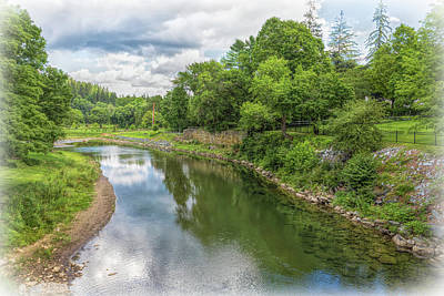 Photograph - The Ottauquechee River  by John M Bailey
