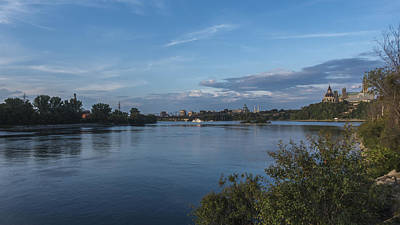 Photograph - The Ottawa River by Josef Pittner