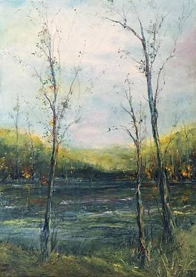 Painting - The Ouachita by Robin Miller-Bookhout