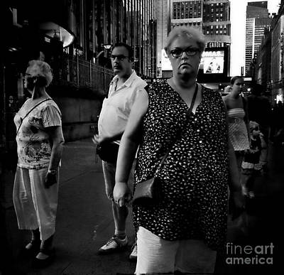 Photograph - The Out - Of - Towners  by Miriam Danar