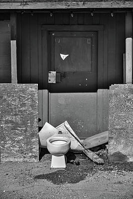 Photograph - The Outdoor Commode.  by Richard J Cassato