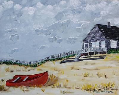 Painting - The Outer Banks by Mike Caitham