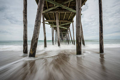 Photograph - The Outer Banks North Carolina Fishing Pier by Rick Dunnuck