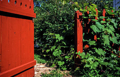 Photograph - The Outer Gate by Lonnie Paulson