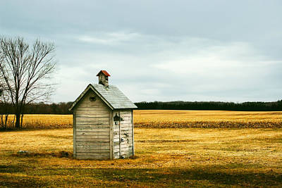 Outhouses Photograph - The Outhouse by Todd Klassy