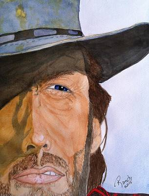 Painting - The Outlaw Josey Wales by Rand Swift