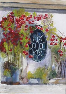 The Oval Window Art Print by Sibby S