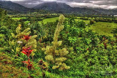 Photograph - Majestic Kauai Overlook Kauai Island Hawaii Collection Art by Reid Callaway