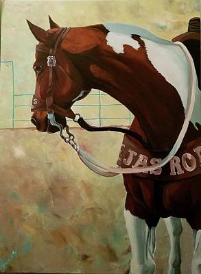 Roper Painting - The Overseer by Danielle Powers