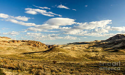 Photograph - The Owyhee Desert Idaho Landscapes By Kaylyn Franks by Omaste Witkowski