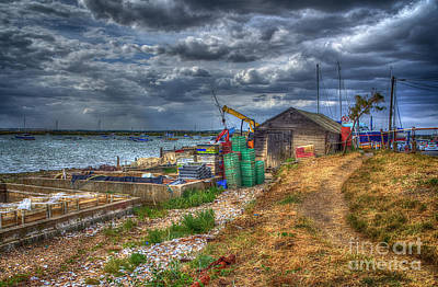 The Oyster Shed Art Print