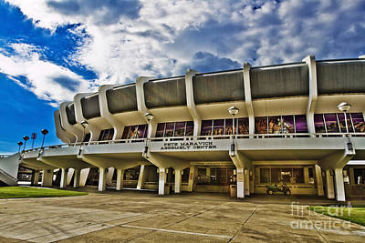 Louisiana State University Photograph - The P Mac by Scott Pellegrin