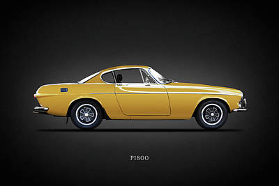 Volvo Photograph - The P1800 by Mark Rogan
