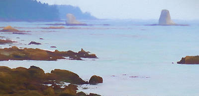 Olympic National Park Painting - The Pacific Coast Washington by Dan Sproul