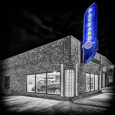 Photograph - The Packard Dealer #2 by Susan Rissi Tregoning