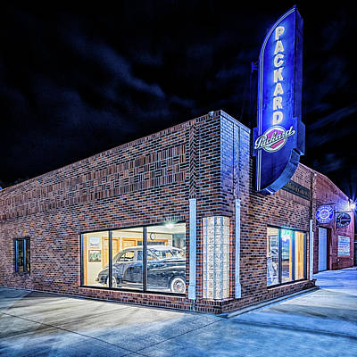 Photograph - The Packard Dealer by Susan Rissi Tregoning