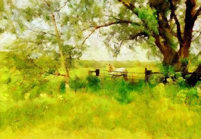 Painting - The Paddock by Valerie Anne Kelly