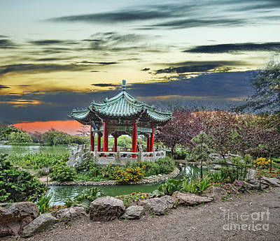 Photograph - The Pagoda By Stow Lake In Golden Gate Park by Jim Fitzpatrick