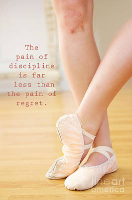 The Pain Of Discipline Art Print