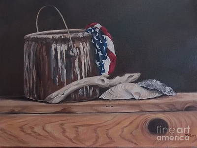 Painting - The Paint Can by Patricia Lang