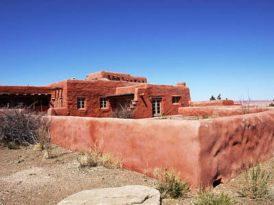 Photograph - The Painted Desert Inn by Mary Capriole