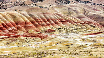 Photograph - The Painted Hills Of John Day Fossil Beds by Pierre Leclerc Photography