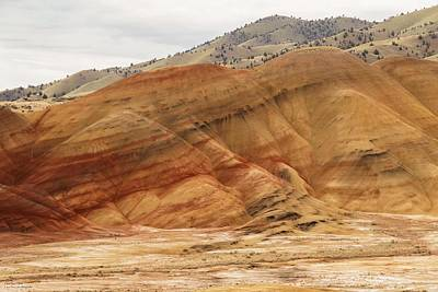 Photograph - The Painted Hills Of Oregon - 2 by Hany J