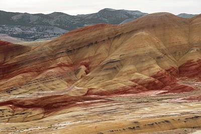 Photograph - The Painted Hills Of Oregon - 3 by Hany J