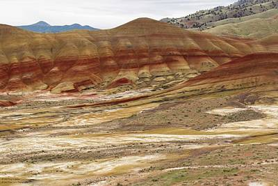 Photograph - The Painted Hills Of Oregon - 4 by Hany J