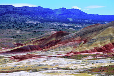 Photograph - The Painted Hills Oregon by Kathy Kelly
