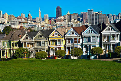 Photograph - The Painted Ladies by Harry Spitz