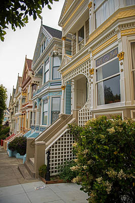 Photograph - The Painted Ladies Of San Francisco by Willie Harper