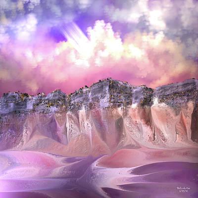 The Painted Sand Rocks Art Print
