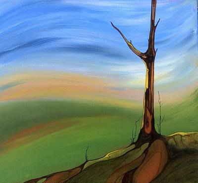 Painting - The Painted Sky by Pat Purdy